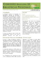 Cartilha da Comissão Brasileira de Biblioecas Prisionais