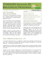 2017: O ano das Bibliotecas Prisionais<br /><br />