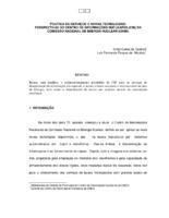 Política de serviços e novas tecnologias: perspectivas do Centro de Informações Nucleares (CIN) da Comissão Nacional de Energia Nuclear (CNEN).