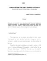 Roubo, depredação de materiais e campanhas educativas em bibliotecas: proposta de um modelo de avaliação.