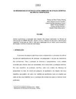 Da necessidade de um índice latino-americano de citação científica na área de odontologia.