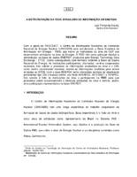 A estruturação da Rede Brasileira de Informação em Energia.