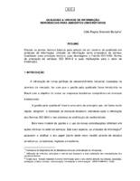 Qualidade & unidade de informação: referenciais para ambientes universitários.