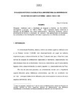 Evolução histórica da Biblioteca Universitária da Universidade do Estado de Santa Catarina- UDESC 1984-1994.