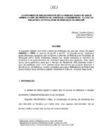 Levantamentos bibliográficos em CD-Rom nas bases de dados UNIBIBLI e ERIC no período de janeiro/95 a dezembro/95: o caso da Biblioteca da Faculdade de Educação da UNICAMP. (Pôster)