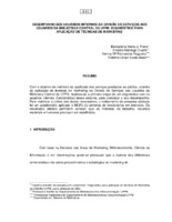 Desempenho dos usuários internos da Divisão de Serviços aos usuários da Biblioteca Central da UFPB: diagnóstico para aplicação de técnicas de marketing.(Põster)