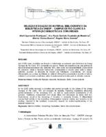 Seleção e doação de material bibliográfico da Biblioteca da UNESP - Campus de Rio Claro e a interaçao biblioteca e comunidade. (Pôster)