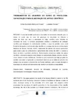 Treinamento de usuários do curso de psicologia: capacitação para elaboração de artigo científico. (Pôster)