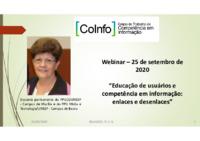 Educação de usuários e competência em informação: enlaces e desenlaces